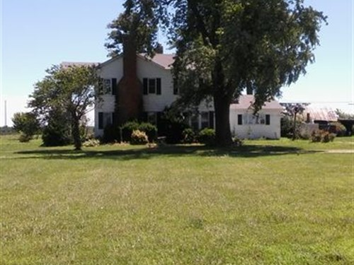 Historical Home On Combo Farm : Martinsburg : Audrain County : Missouri