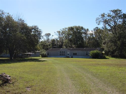 4Bed/2Bath Home Large Workshop : Land O Lakes : Pasco County : Florida