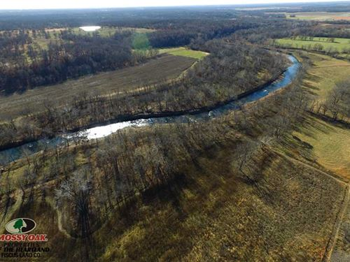 101 Acres With Center Creek Fronta : Carl Junction : Jasper County : Missouri