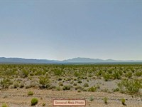 Eastern California Acreage : Pahrump : Inyo County : California