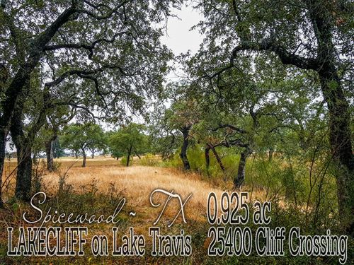 .9250 Acres In Travis County : Spicewood : Travis County : Texas