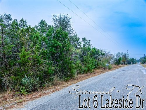 .21 Acres In Burnet County : Spicewood : Burnet County : Texas