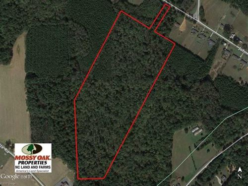 32.5 Acres of Hunting And Timber : Middlesex : Wilson County : North Carolina