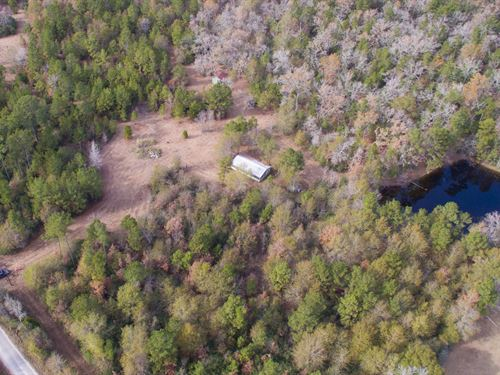 50 Acres Low Keels Road : Trinity : Walker County : Texas