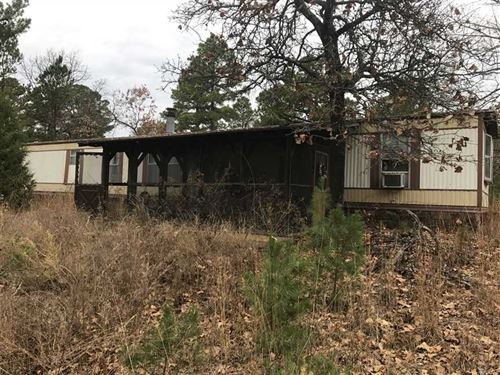 80 Acres of Timberland in Logan CO : Booneville : Logan County : Arkansas