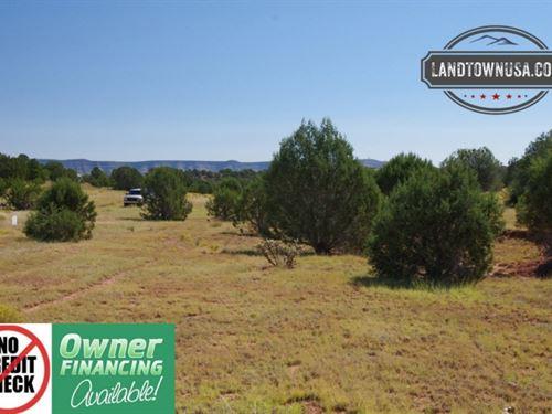 1.02 Acre Treed Lot Nw Of Seligman : Seligman : Yavapai County : Arizona
