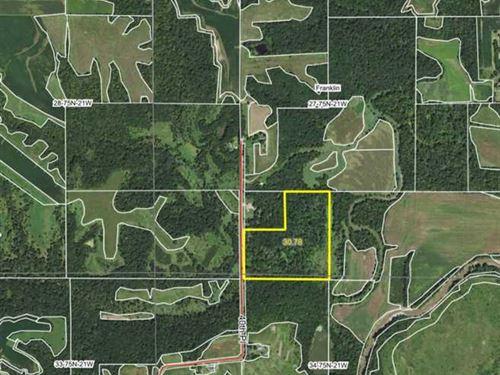 30 Acres M/L Land For Sale in Mari : Melcher-Dallas : Marion County : Iowa