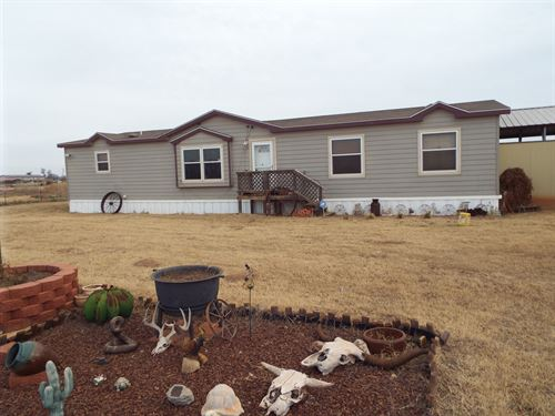 Nice Home And 2.5 Acres : Dover : Kingfisher County : Oklahoma