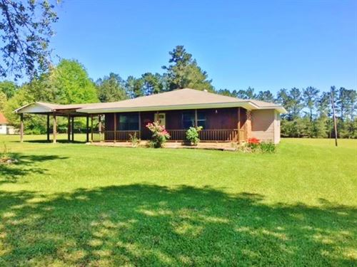 Country Home For Sale North Pike Sc : McComb : Pike County : Mississippi