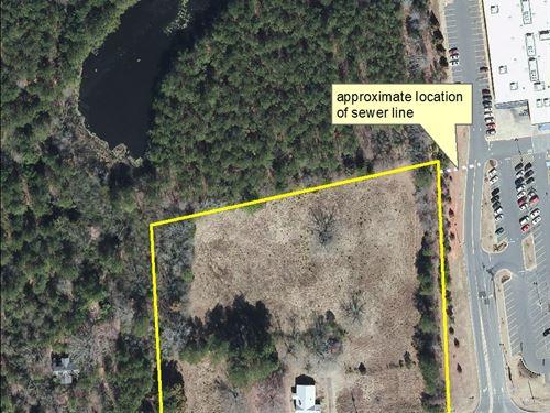 Acreage Fronting Us Highway 74 : Wadesboro : Anson County : North Carolina