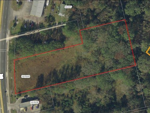 2.15 Acres Commerical : Callahan : Nassau County : Florida