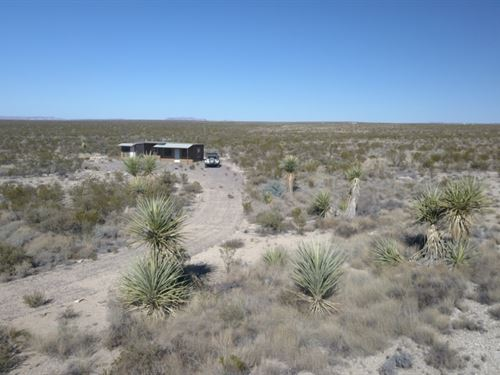 Nice Off Grid Cabin On 5 Acres : Terlingua : Brewster County : Texas
