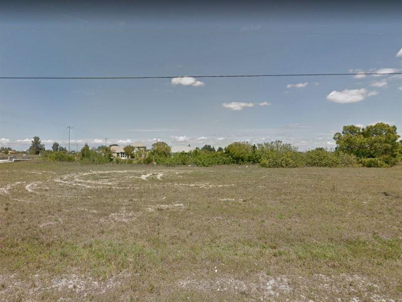 .24 Acres In Cape Coral, FL : Cape Coral : Lee County : Florida