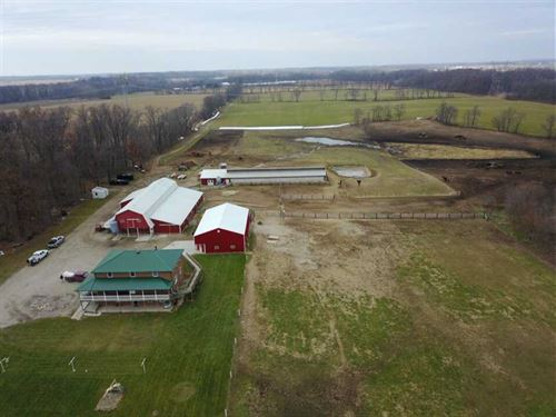 51 Acres N. Meridian Rd. Miami Cou : Akron : Miami County : Indiana