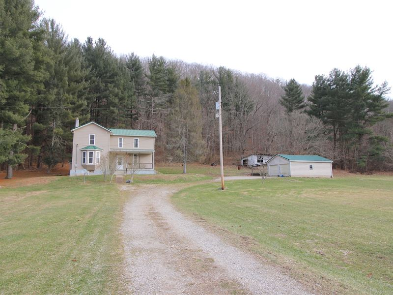 Sr 327 - 27 Acres : Ray : Jackson County : Ohio