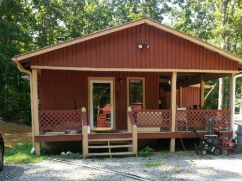 5+ Ac W/A Furnished Rustic Cabin : Hilham : Clay County : Tennessee