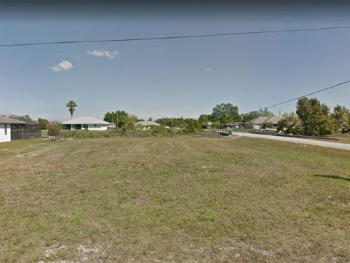.39 Acres In Cape Coral, FL : Cape Coral : Lee County : Florida