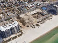 +/- 9.41 Acres Gulf Front Property : Panama City Beach : Bay County : Florida
