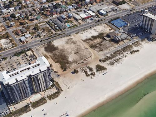 +/- 9.41 Acres Gulf Front Property : Panama City Beach : Bay County : Florida