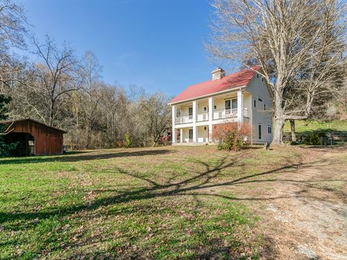Rebuilt 1900'S Home And 100 Acres : Columbia : Maury County : Tennessee