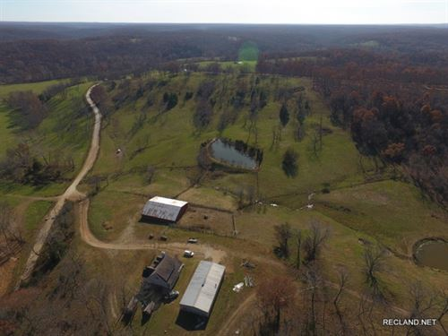 372 Ac - Cattle Ranch & Home : Climax : Camden County : Missouri