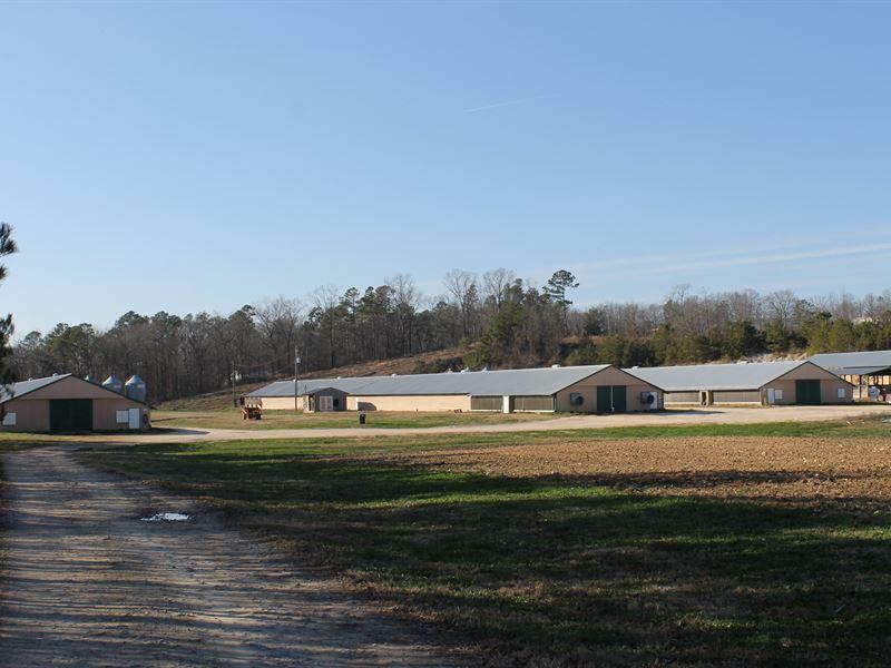 Hidden Farm-3 House Broiler Farm : Springville : Saint Clair County : Alabama