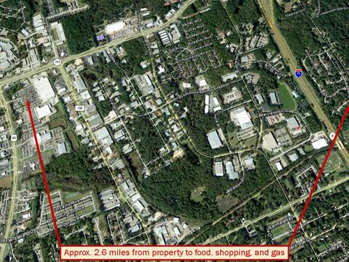 Over Half An Acre In Tallahassee : Tallahassee : Leon County : Florida