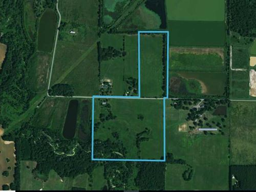 60 Acres Just Outside of McRae : McRae : White County : Arkansas