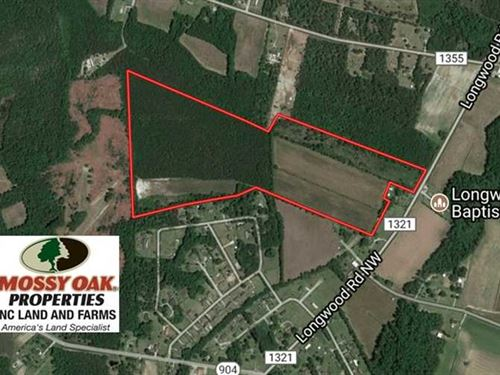 64.37 Acres of Farm And Hunting La : Ash : Brunswick County : North Carolina