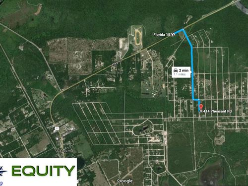 Buildable Vacant Lot : Satsuma : Putnam County : Florida