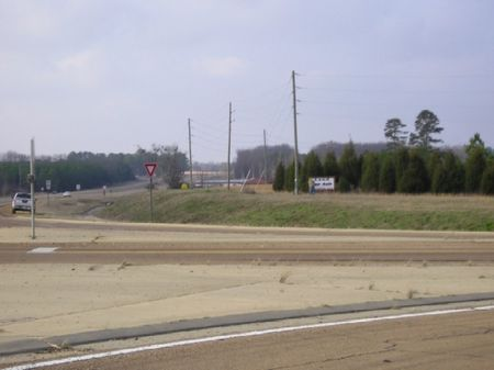 2.4 Acre Commercial Lot : Brooksville : Noxubee County : Mississippi