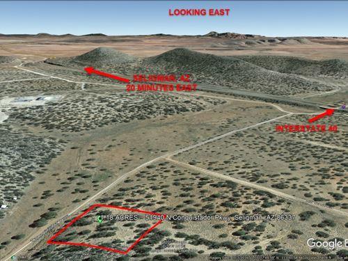 1.18 Acre Treed Lot In Seligman : Seligman : Yavapai County : Arizona