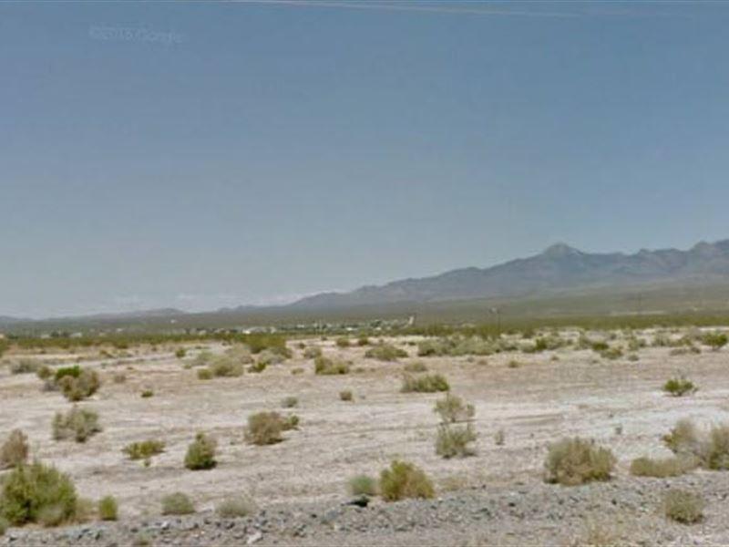 Nye County, Nv $25,000 Neg : Pahrump : Nye County : Nevada