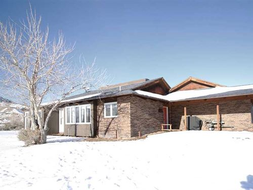 Two Bedroom, Two Bath Home on 9.71 : Cody : Park County : Wyoming
