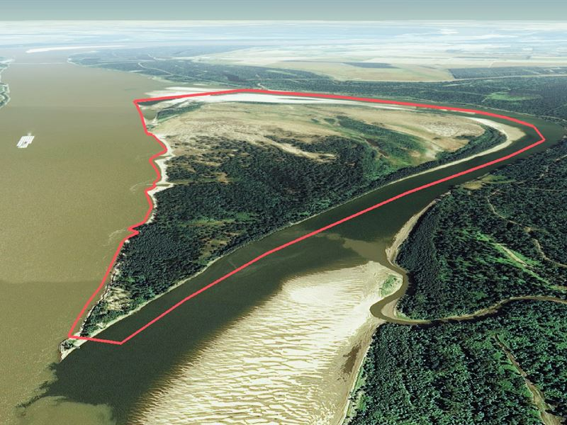 American Bar - Ms River Island : Avon : Washington County : Mississippi