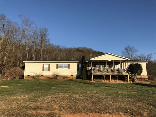 4 Br/2 Ba Home On 5.06 Acres : Fairmount : Gordon County : Georgia