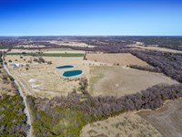 Scenic 114+ Ac With Spacious Home : Bluff Dale : Erath County : Texas