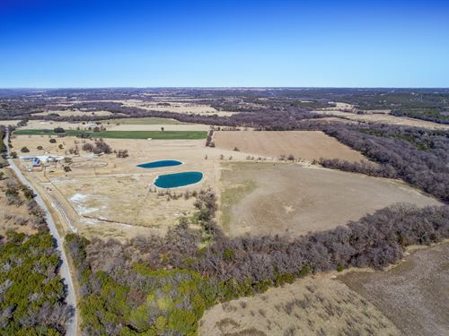 Scenic 114+ Acres With Spacious Hom : Bluff Dale : Erath County : Texas