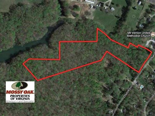 13 Acres of Prime Investment Land : Toano : James City County : Virginia