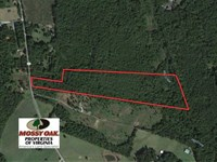 17.66 Acres of Timber And Hunting : Kents Store : Goochland County : Virginia