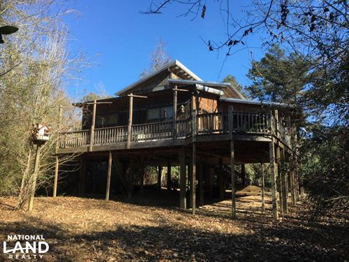 Franklinton Riverfront Home : Franklinton : Washington Parish : Louisiana