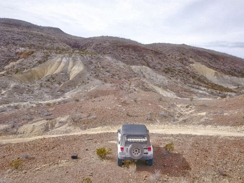 40 Scenic Off Grid Acres : Terlingua : Brewster County : Texas