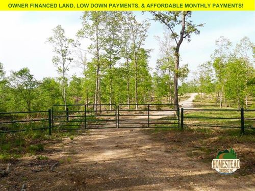 3.2 Acres, Level Home-Site : West Plains : Howell County : Missouri