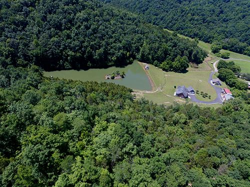 226 Ac, 2 Homes, Pole Barn, Lake : Tompkinsville : Monroe County : Kentucky