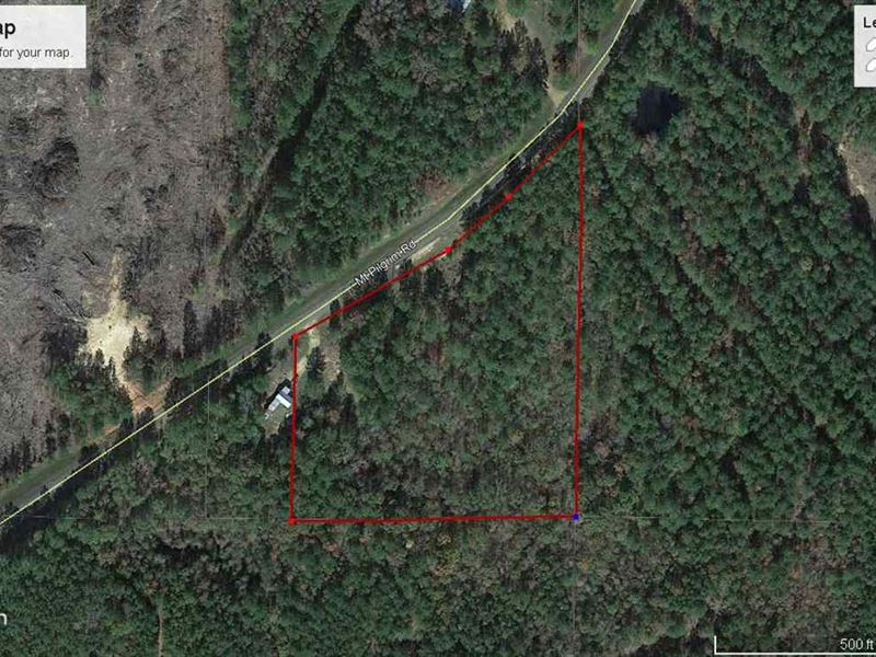 Wooded Tract : Canton : Madison County : Mississippi