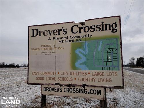 Drover's Crossing Development Plus : Mount Hope : Sedgwick County : Kansas