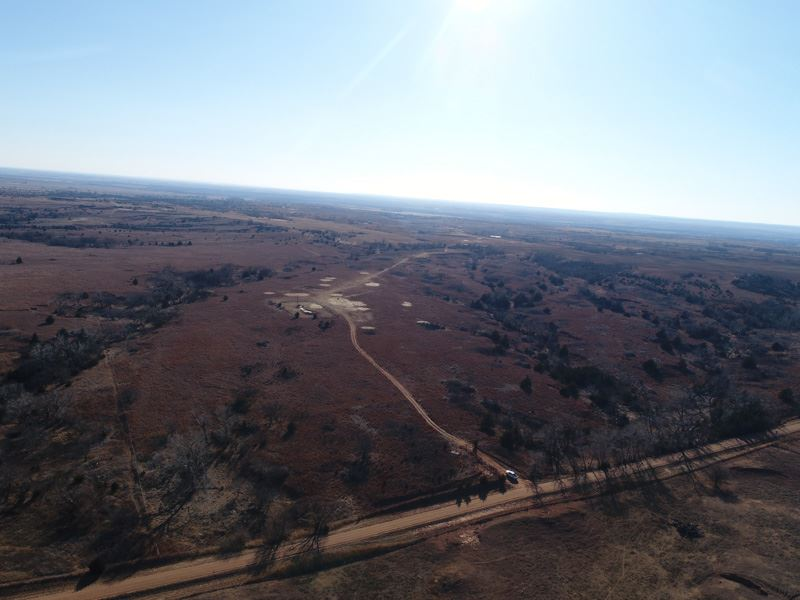 305 Acres Offered In Two Tracts : Hardtner : Barber County : Kansas