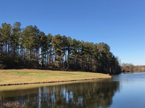 130 Acre Farm With 10 Acre Lake : Carnesville : Franklin County : Georgia