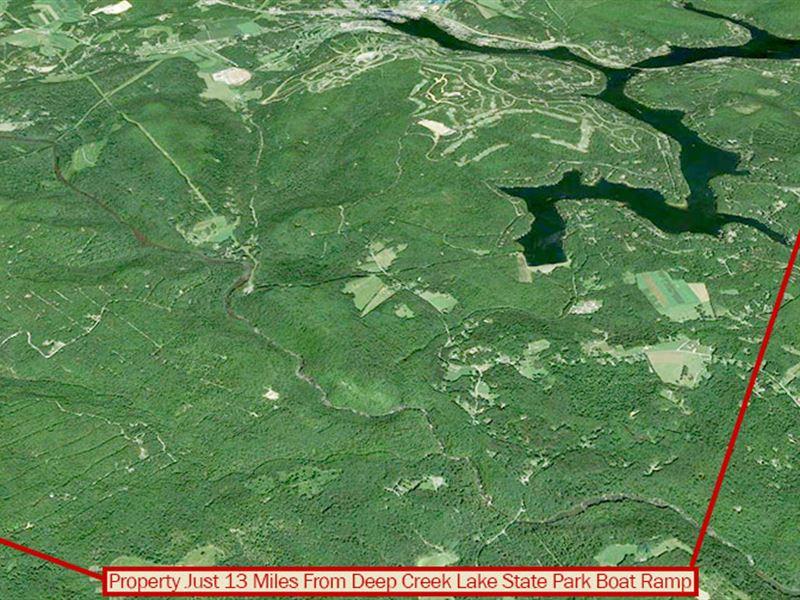 1 Acre Hideaway In Maryland : Oakland : Garrett County : Maryland