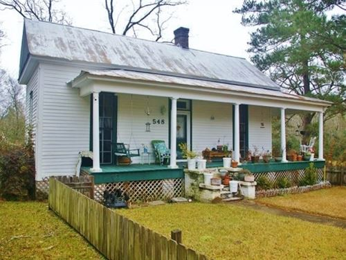 House On 2.21 Acres Magnolia, Pike : Magnolia : Pike County : Mississippi